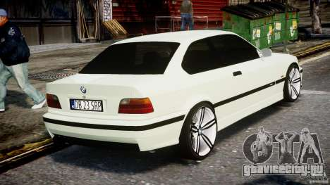 BMW e36 M3 для GTA 4 вид сбоку