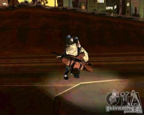 Набор анимации из GTA IV для GTA San Andreas