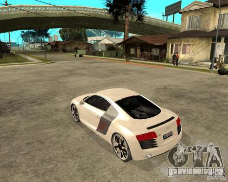 Audi R8 light tunable для GTA San Andreas вид слева