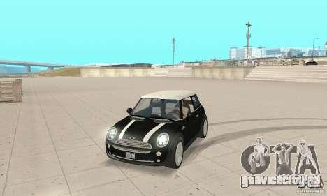 Mini Cooper Hardtop для GTA San Andreas
