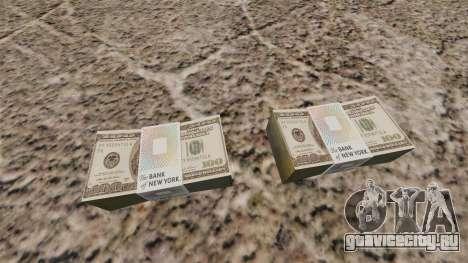 Денежные купюры США номиналом 100$ для GTA 4 второй скриншот