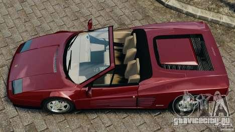Ferrari Testarossa Spider custom v1.0 для GTA 4 вид справа