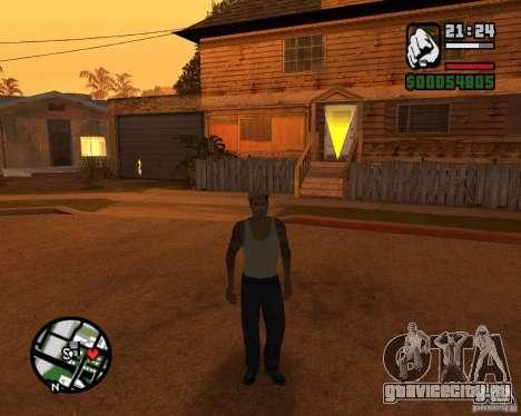 Cj Гопник для GTA San Andreas второй скриншот