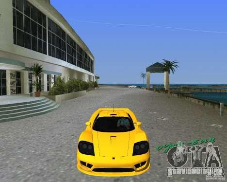 Saleen S7 для GTA Vice City вид слева