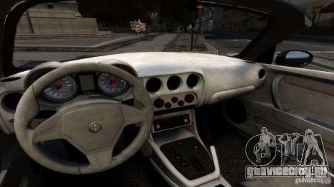 Alfa Romeo 8C Competizione Spider v1.0 для GTA 4 вид справа