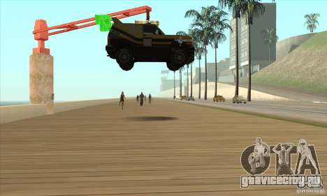 Death Car - машина смерти для GTA San Andreas третий скриншот