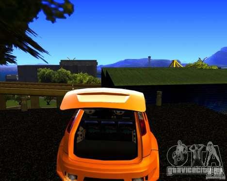 Ford Focus ST Racing Edition для GTA San Andreas вид сзади слева