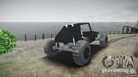Buggy beta для GTA 4 вид сзади слева