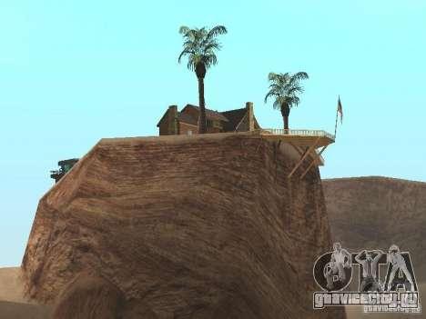 Загородный дом для GTA San Andreas второй скриншот