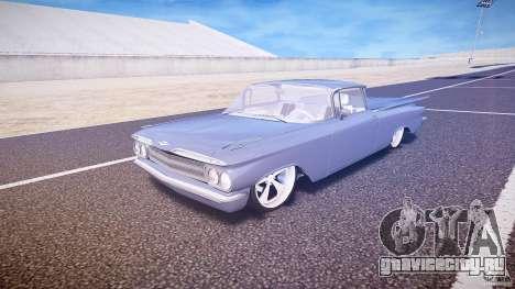 Chevrolet El Camino Custom 1959 для GTA 4