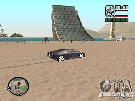 Проезд над океаном (Beta версия) для GTA San Andreas четвёртый скриншот