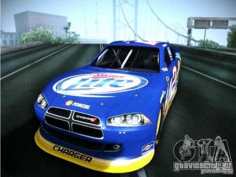 Dodge Charger Nascar 2012 для GTA San Andreas