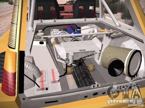 Renault 5 Turbo для GTA San Andreas вид сверху