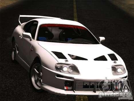 Toyota Supra TRD3000GT v2 для GTA San Andreas вид справа