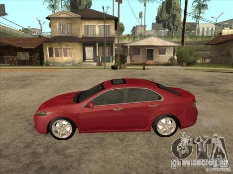 Honda Accord 2010 для GTA San Andreas вид слева