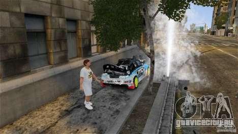 Subaru Impreza WRX STI Rallycross KMC Wheels для GTA 4 вид снизу
