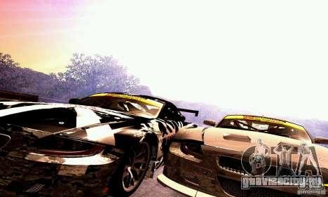 BMW Z4 E85 M GT 2008 V1.0 для GTA San Andreas вид сверху