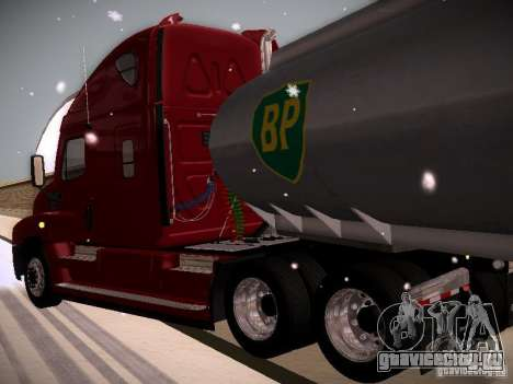 Freightliner Cascadia для GTA San Andreas вид сзади