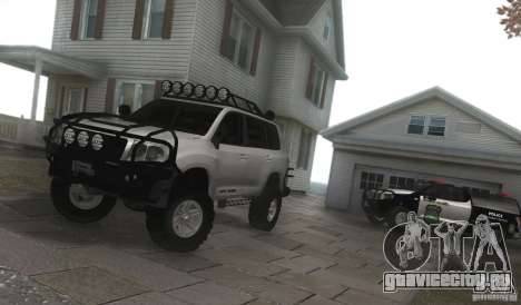 Toyota Land Cruiser 200 Off Road v1.0 для GTA San Andreas вид справа