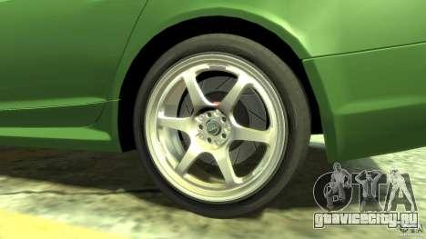 Audi RS6 Avant 2010 Stock для GTA 4 вид сзади