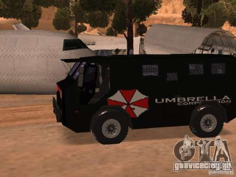 AM 7.0 Umbrella Corporation для GTA San Andreas вид слева