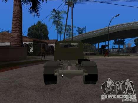 ГАЗ 3302 v2.0 (ГАЗель Эвакуатор) для GTA San Andreas вид сзади слева