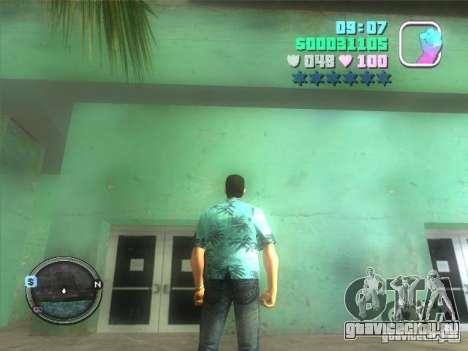Hud and map для GTA Vice City