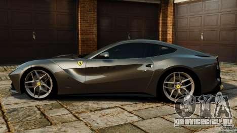 Ferrari F12 Berlinetta 2013 Stock для GTA 4 вид слева