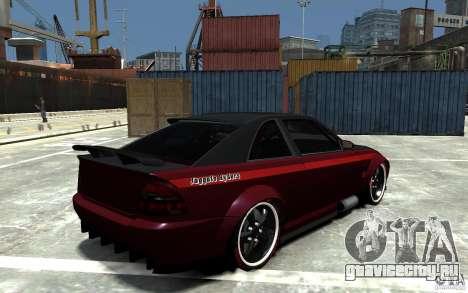 Sultan RS V2.5 для GTA 4 вид справа