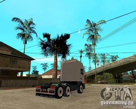 Scania 164L 580 для GTA San Andreas вид сзади слева