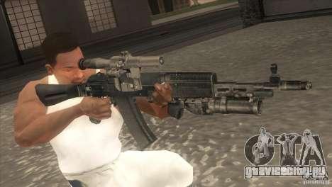 АК-47 v2 для GTA San Andreas пятый скриншот