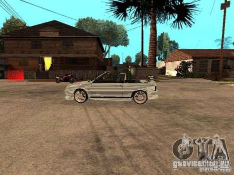 ВАЗ 2108 Кабриолет для GTA San Andreas вид справа