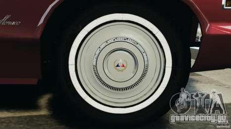 Dodge Monaco 1974 v1.0 для GTA 4 салон
