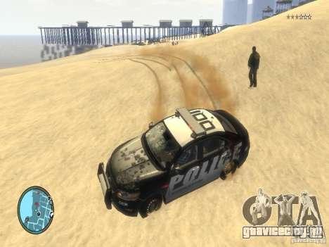 Ford Taurus Police для GTA 4 вид сверху