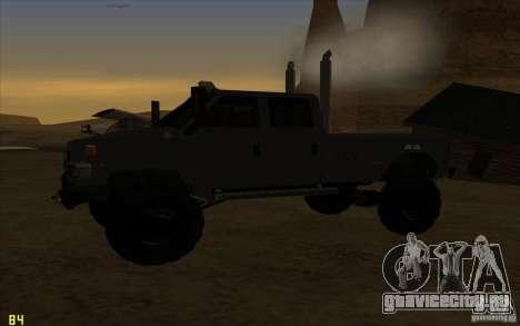 GMC Topkick Ironhide TF3 для GTA San Andreas вид справа