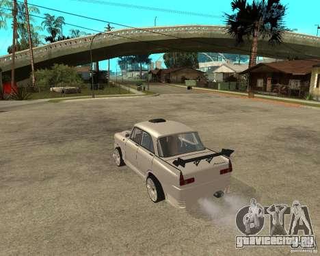 АЗЛК 412 tuned для GTA San Andreas вид слева