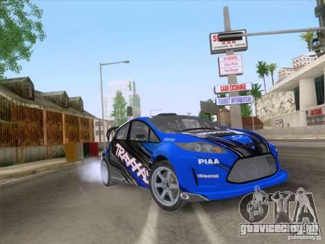 Ford Fiesta для GTA San Andreas вид сбоку