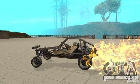 GTA FEATURE BURNOUT FIX 1.2 для GTA San Andreas