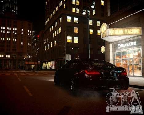 BMW 750Li 2013 для GTA 4 вид изнутри