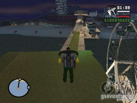 Night moto track V.2 для GTA San Andreas пятый скриншот