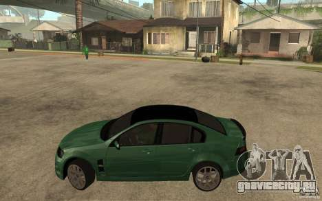 Holden Commodore 2010 для GTA San Andreas