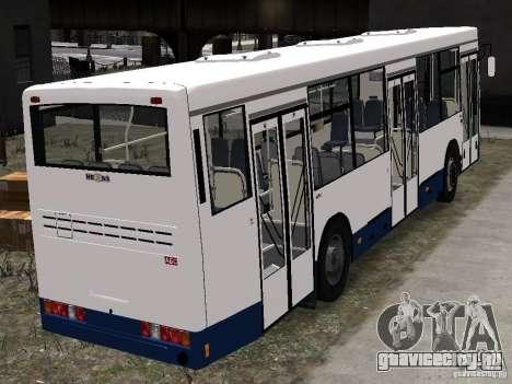 НефАЗ 5299-10-15 для GTA 4 вид сзади