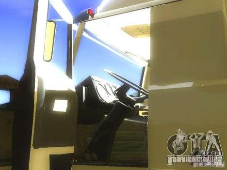 МАЗ Turbo 5432 для GTA San Andreas вид сбоку