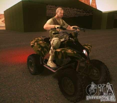 ATV 50 для GTA San Andreas вид слева