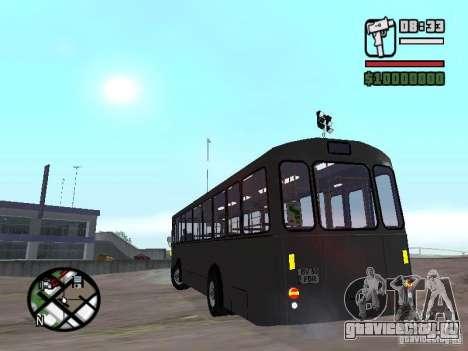 FBW Hess 91U для GTA San Andreas вид сзади