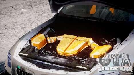 BMW M6 G-Power Hurricane для GTA 4 вид сзади