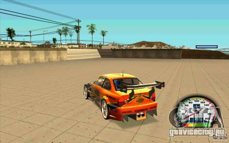 New Speedometer with transmissions для GTA San Andreas