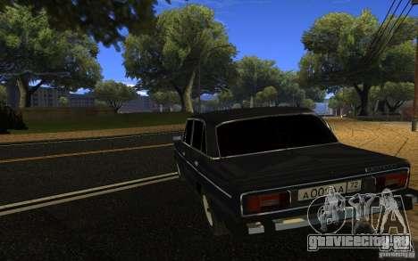 ВАЗ 2106 Тюмень для GTA San Andreas вид слева