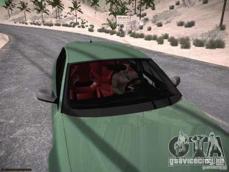 Audi RS3 2011 для GTA San Andreas вид сбоку