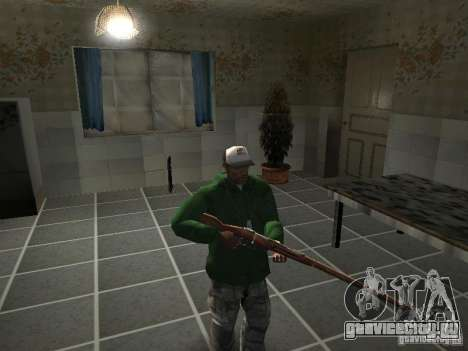 Пак Отечественного Оружия V2 для GTA San Andreas одинадцатый скриншот